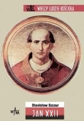 Okładka książki Jan XXII Stanisław Szczur