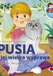 Okładka książki Pusia i jej wielka wyprawa Mirosława Kwiecińska