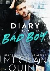 Okładka książki Diary of a Bad Boy Meghan Quinn