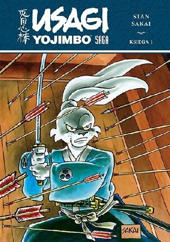 Okładka książki Usagi Yojimbo Saga. Księga 1 Stan Sakai