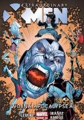 Okładka książki Extraordinary X-Men: Wojna Apocalypsea. Tom 2 Jeff Lemire,Humberto Ramos,Victor Ibáñez