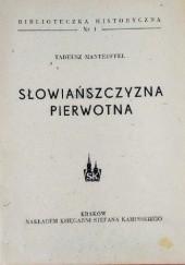 Okładka książki Słowiańszczyzna pierwotna
