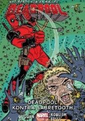Okładka książki Deadpool. Deadpool kontra Sabretooth. Tom 3 Mike Allred,Gerry Duggan,Matteo Lolli,Scott Koblish