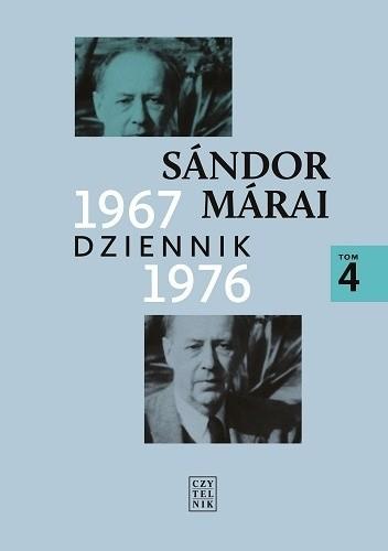 Okładka książki Dziennik 1967-1976 Sándor Márai