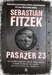 Okładka książki Pasażer 23 Sebastian Fitzek