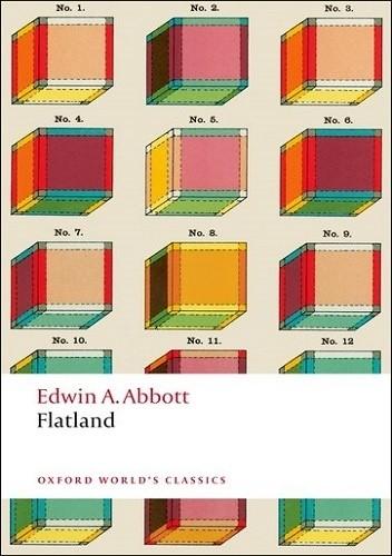 Okładka książki Flatland. A Romance of Many Dimensions Edwin A. Abbott