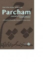 Okładka książki PARCHAM - Journal of Ahmad Kasravi  and his followers