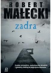 Okładka książki Zadra Robert Małecki