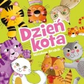 Okładka książki Dzień kota Wiesław Drabik