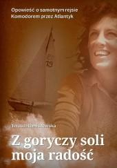 Okładka książki Z goryczy soli moja radość Teresa Remiszewska