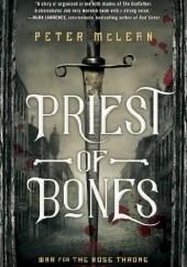 Okładka książki Priest of Bones Peter McLean
