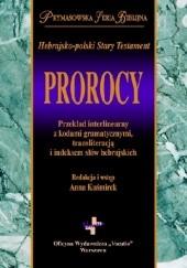Okładka książki Hebrajsko-polski Stary Testament. Prorocy