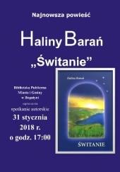 Okładka książki Świtanie Halina Barań