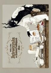 Okładka książki Dziewczynka w Krainie Przeklętych: Album Nagabe