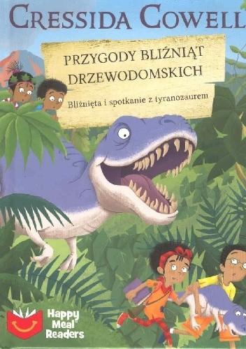 Okładka książki Przygody bliźniąt Drzewodomskich. Bliźnięta i spotkania z tyranozaurem Cressida Cowell,Artful Doodler