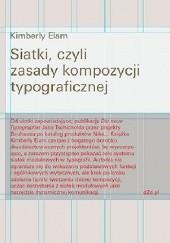 Okładka książki Siatki, czyli zasady kompozycji typograficznej Kimberly Elam