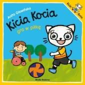 Okładka książki Kicia Kocia gra w piłkę Anita Głowińska