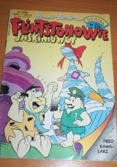 Okładka książki Flintstonowie Jaskiniowcy Nr 3/1994