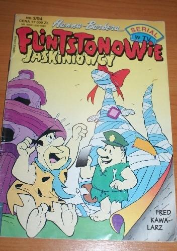 Okładka książki Flintstonowie Jaskiniowcy Nr 3/1994 Renata Ulanowska,Cezary Wolski