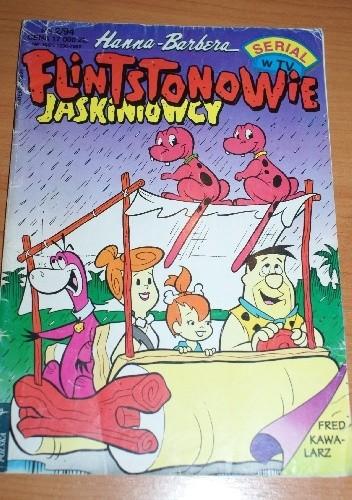 Okładka książki Flintstonowie Jaskiniowcy Nr 2/1994 Renata Ulanowska,Cezary Wolski