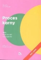 Okładka książki Proces karny. Testy, podpowiedzi, rozwiązania Paweł Czarnecki