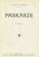 Okładka książki Paskarze Teodor Jeske-Choiński