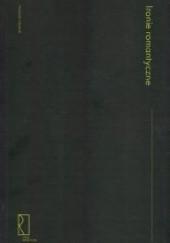 Okładka książki Ironie romantyczne Wojciech Hamerski