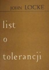 Okładka książki List o Tolerancji