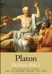 Okładka książki Platons skrifter. Bok 1 Platon