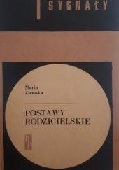 Okładka książki Postawy rodzicielskie Maria Ziemska