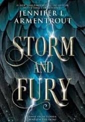 Okładka książki Storm and Fury Jennifer L. Armentrout