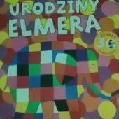 Okładka książki Urodziny Elmera David McKee