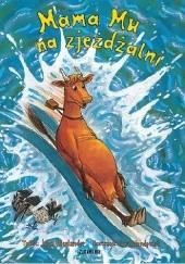 Okładka książki Mama Mu na zjeżdżalni Sven Nordqvist,Jujja Wieslander