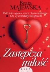 Okładka książki Zastępcza miłość Beata Majewska