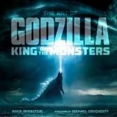 Okładka książki The Art of Godzilla: King of the Monsters Abbie Bernstein