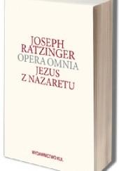 Okładka książki Jezus z Nazaretu Benedykt XVI