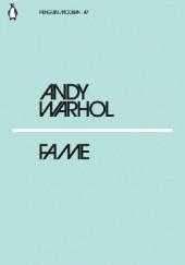 Okładka książki Fame Andy Warhol