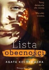 Okładka książki Lista obecności Agata Kołakowska