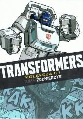 Okładka książki Transformers #9: Żołnierzyki Simon Furman,Bob Budiansky,Don Perlin,José Delbo,Geoff Senior
