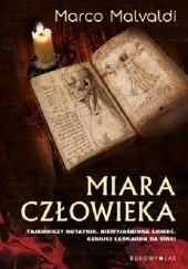 Okładka książki Miara człowieka Marco Malvaldi