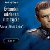 """Okładka książki Akcja """"Liść Dębu"""" Andrzej Zbych"""