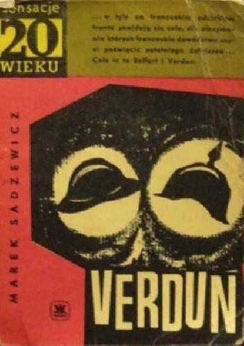 Okładka książki Verdun Marek Sadzewicz