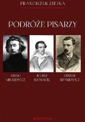 Okładka książki Podróże pisarzy Franciszek Ziejka