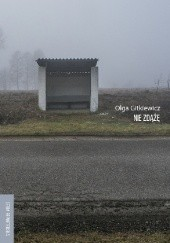 Okładka książki Nie zdążę Olga Gitkiewicz