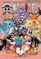 Okładka książki One Piece tom 55 - Tonący transwestyty się chwyta Eiichiro Oda
