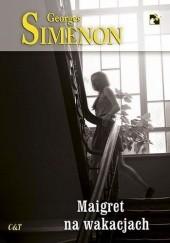 Okładka książki Maigret na wakacjach Georges Simenon