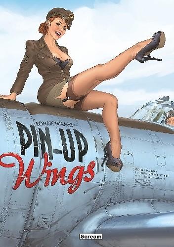Okładka książki Pin-Up Wings. Artbook Romain Hugault