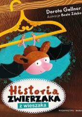 Okładka książki Historia zwierzaka z wieszaka Dorota Gellner