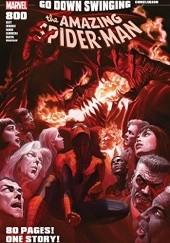 Okładka książki The Amazing Spider-Man #800 Dan Slott,Humberto Ramos,Giuseppe Camuncoli,Stuart Immonen,Jim Cheung