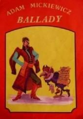 Okładka książki Ballady Adam Mickiewicz